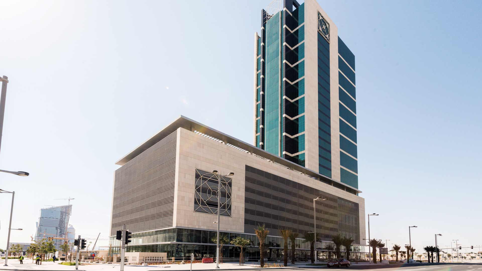 Building in Lusail, Qatar